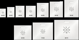 Размеры ПВД пакетов